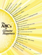 The ABC's of Genuine Happiness