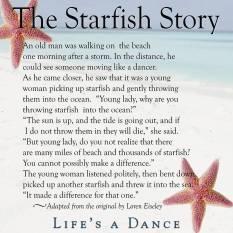 The starfish story
