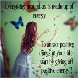 everything around us is made up of energy