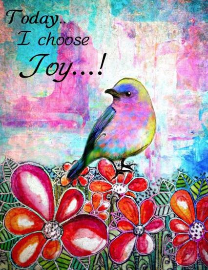 today i choose joy