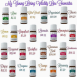 my young living vitality line favorites