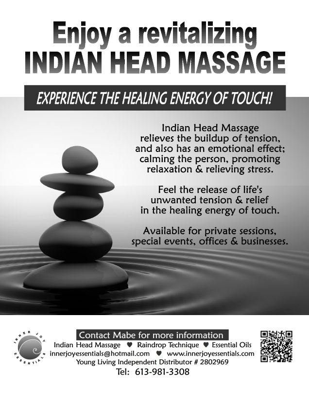 indian head massage by inner joy essentials